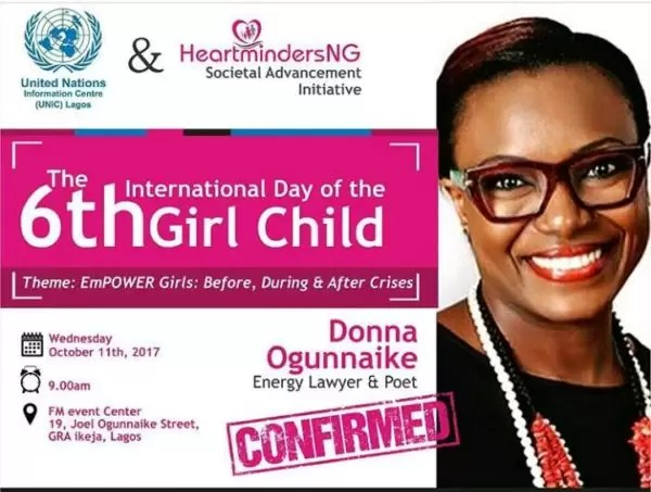 International Girl Child Day-  Empower Girls: Before, During and After Crisis 11