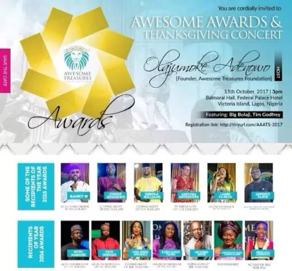 The Awesome Awards Thanksgiving concert 1