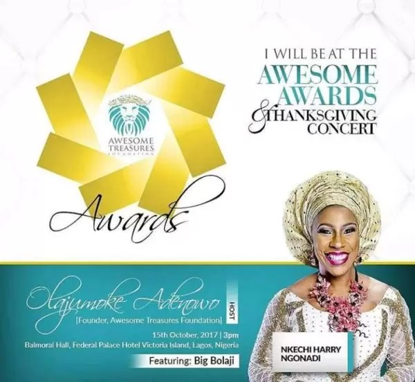 The Awesome Awards Thanksgiving concert 5