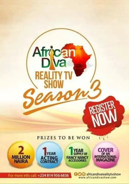 African Diva reality show season 3 2