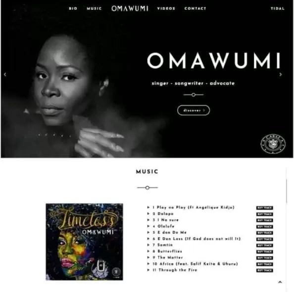#TimelessAlbum: Omawumi 1