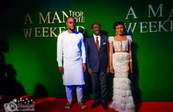 Photos of the movie premier #AManForTheWeekend in Douala 7
