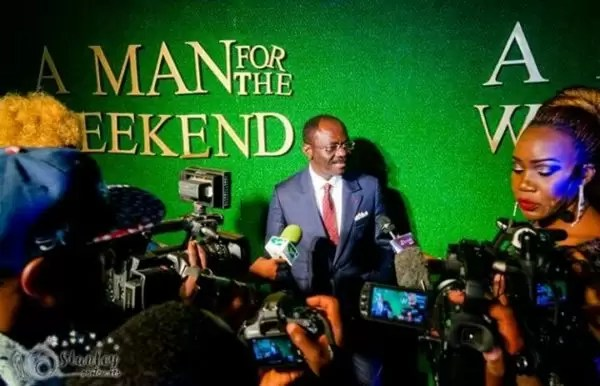 Photos of the movie premier #AManForTheWeekend in Douala 6