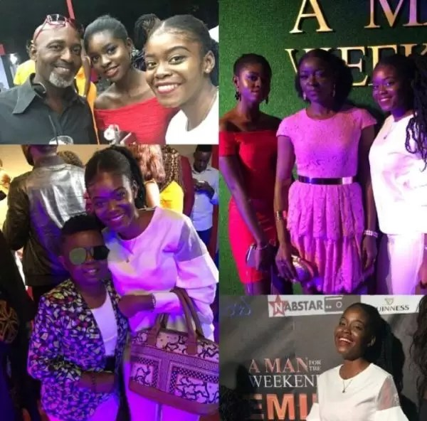 Photos of the movie premier #AManForTheWeekend in Douala 10