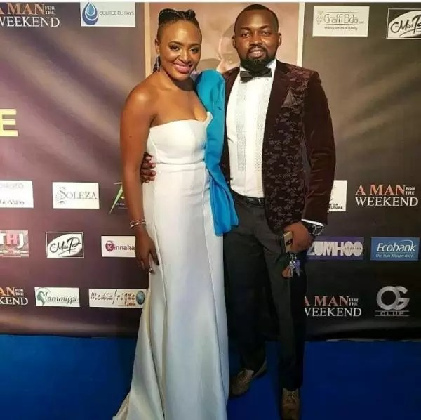 Photos of the movie premier #AManForTheWeekend in Douala 13