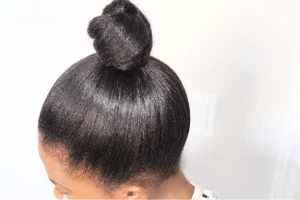 How to treat your relaxed hair 2