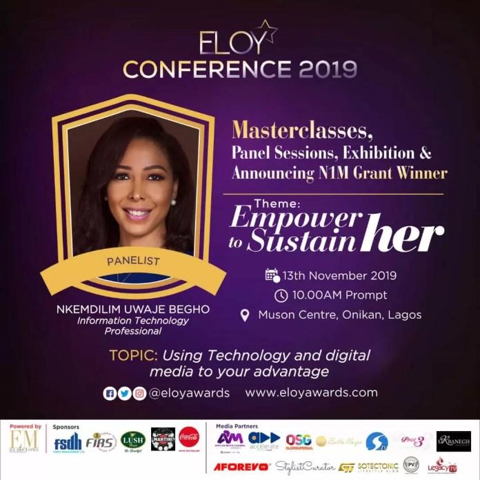 Eloy Conference 2019: Meet Our Panelists DiscussingUsingTechnologyAndDigitalMediaToYourAdvantage 2