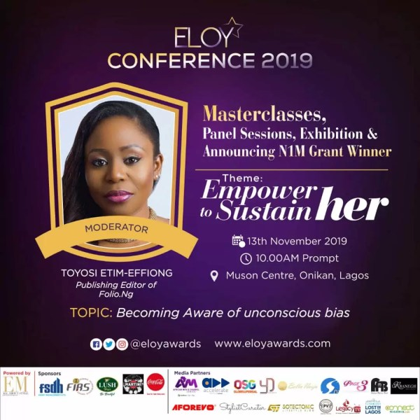 Eloy Conference 2019: Meet Panelists 2 Discussing Becoming Aware Of The Unconscious Bias. 6