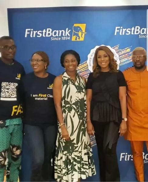Firstbank Partners LINDA IKEJI TV, Unveils First Class Material 1