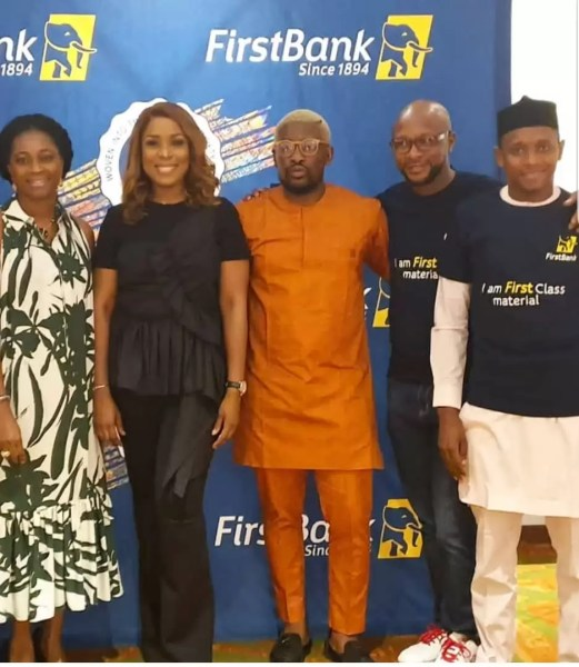 Firstbank Partners LINDA IKEJI TV, Unveils First Class Material 3