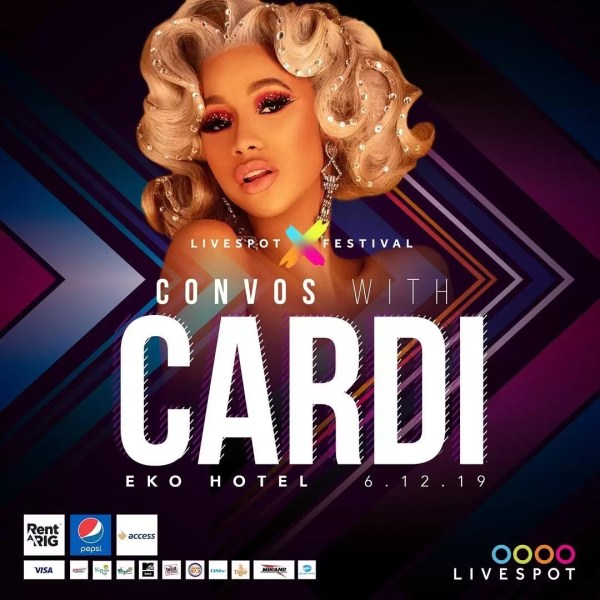 Entertainment News: Cardi B Is Live In Nigeria 2
