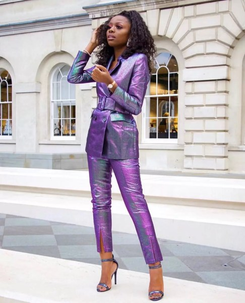 9 to 5 Chic: It's Raining Colored Suits! 3