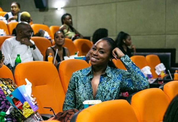 "Marcy Dolapo Oni's Private Screening of Short Play ""OmoWa"" with guests was Mo Abudu, Biola Alabi, Bolanle Austen-Peters, Bez Idakula, Daniel Etim-Effiong, Waje, Chigul, Osas Ighodaro, Ozinna Anumudu and more! 1"