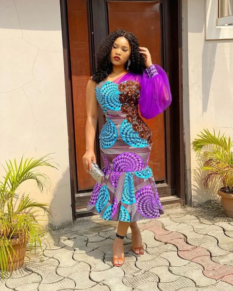 Exquisite Ankara Styles: Featuring  Angel Obasi, Diiadem, and More 1