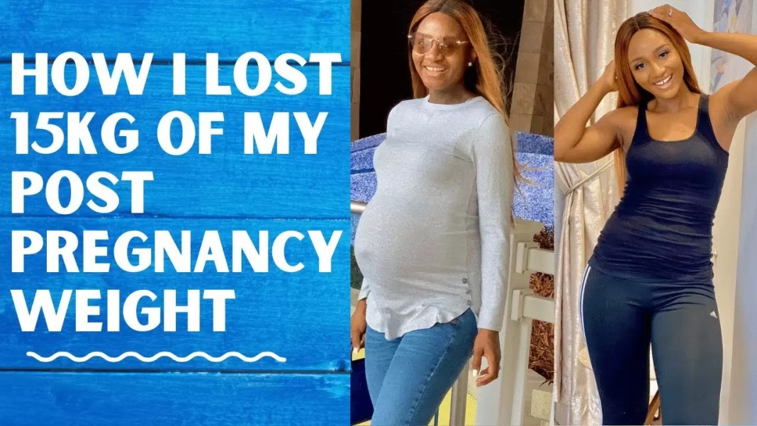 WATCH Powede Awujo Share Amazing Post-Pregnancy Weight Loss Tips