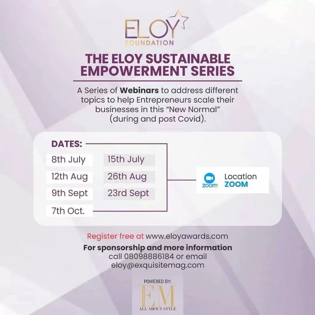 ELOY Awards Foundation webinar