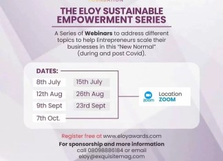 ELOY Awards Foundation webinar
