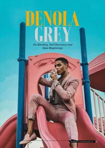Denola Grey Covers Debut Edition of MC! Magazine; Talks Self-Awareness & Influencing in Nigeria 1
