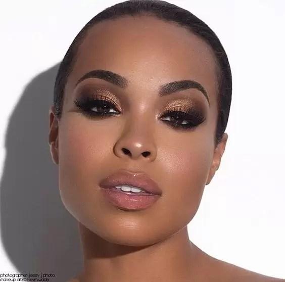 Nude Lipsticks On Dark Skin Women | Focus On 1
