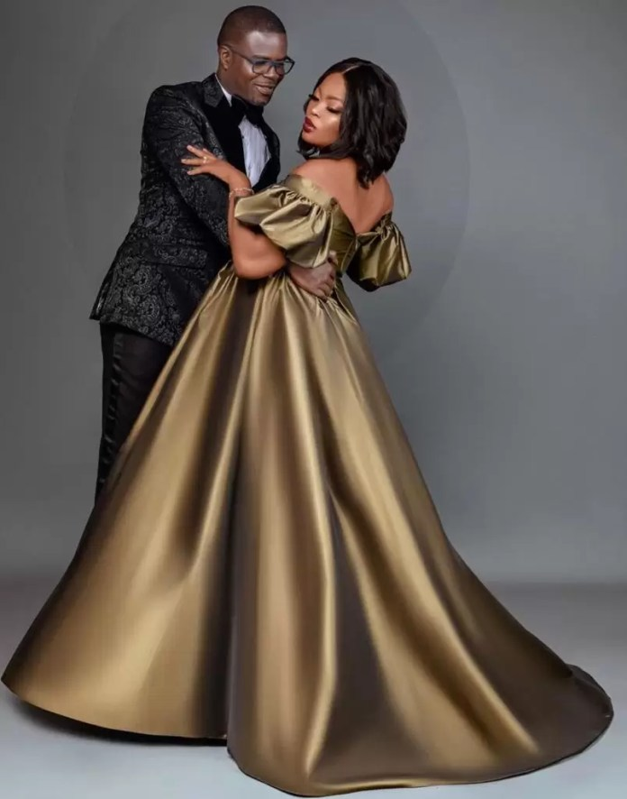 Funke Akindele And JJC Skillz Celebrated Their 4th Wedding Anniversary With These Lovely Photos 4