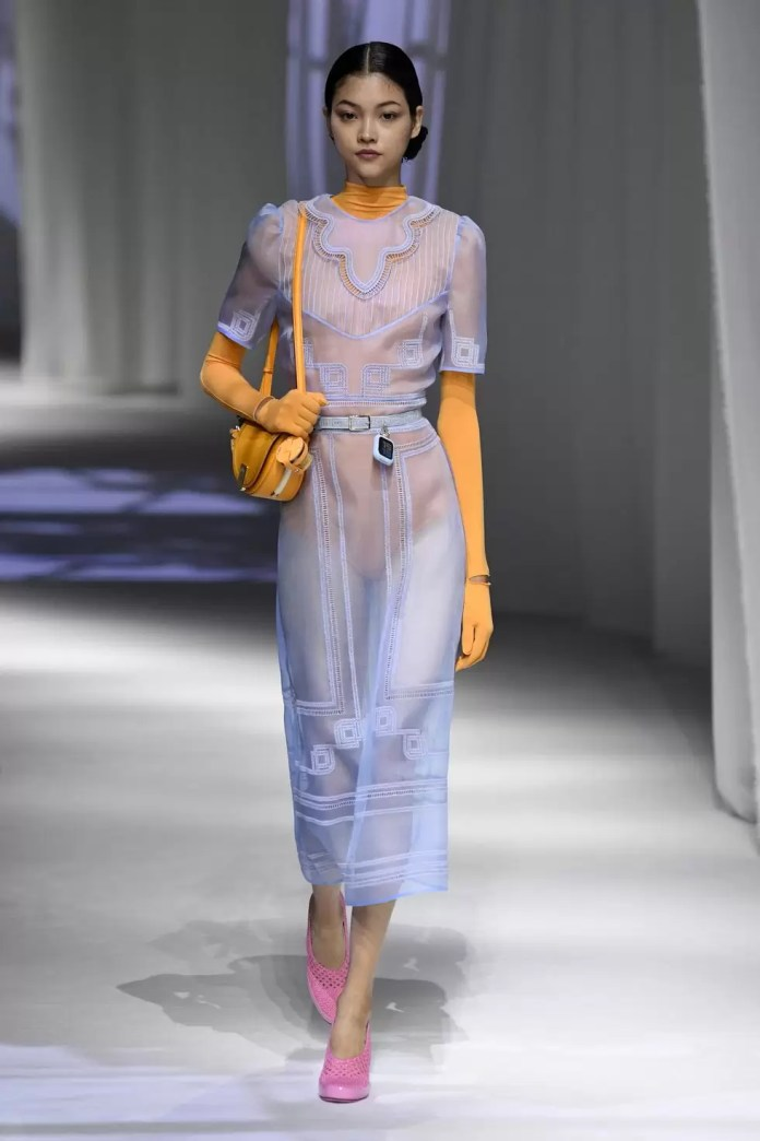 Peep Some Of  Our Fave Looks From Milan Fashion Week Spring 2021 14