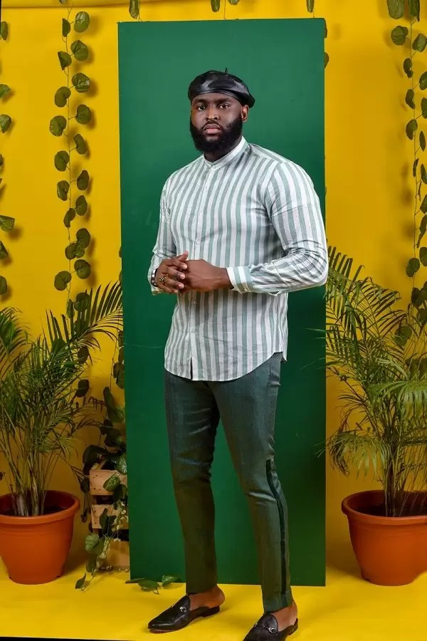 Uti Nwachukwu, Nelson Allison features in FreshbyDotun Latest Shirt Collection | EM Lookbook 2