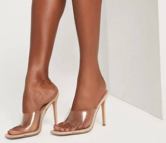 Perspex shoes