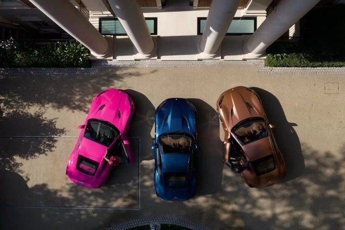 Father Of The Year Alert! Femi Otedola Gifts Ferraris To His Three Daughters, And Cuppy Got A Pink One 4