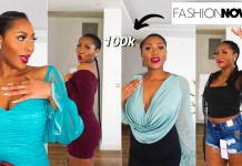 Dimma Umeh's Fashionnova Haul