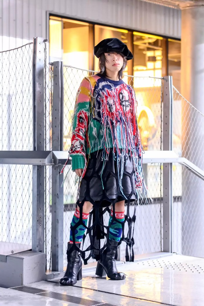 Some Street Style Awesomeness From Tokyo Fashion Week SS21 Just For You! 10