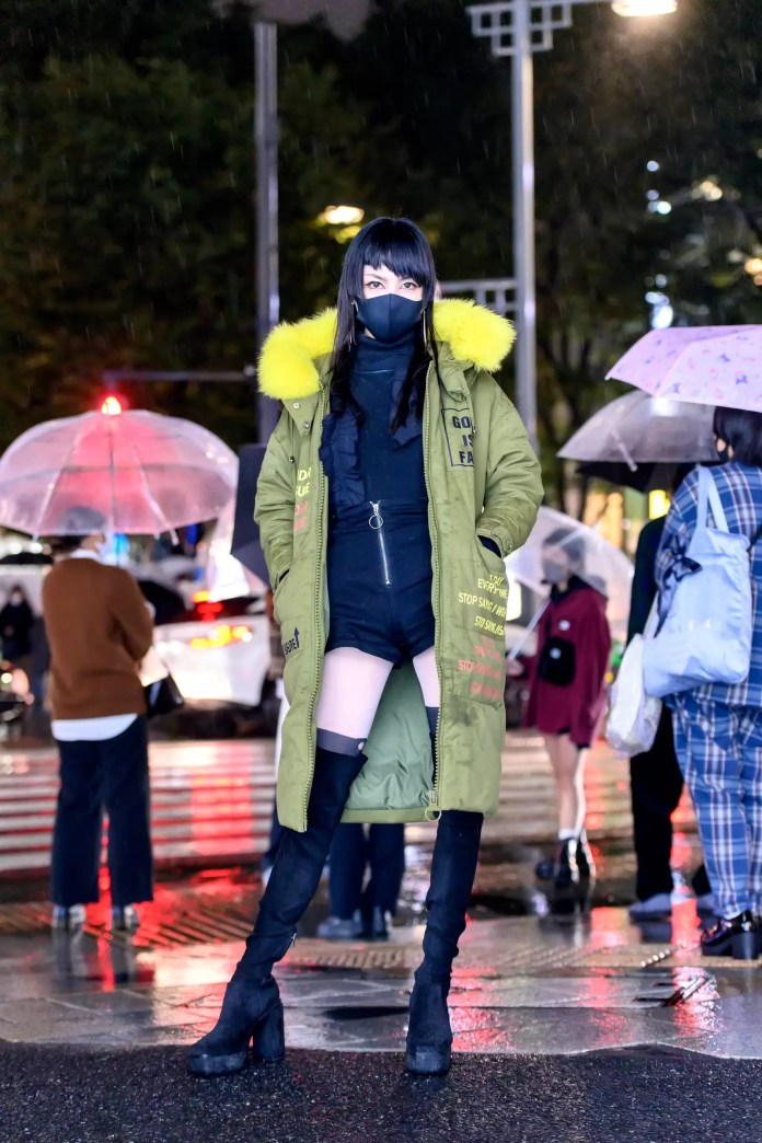 Some Street Style Awesomeness From Tokyo Fashion Week SS21 Just For You! 9