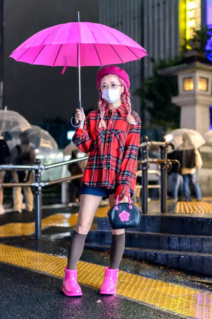 Some Street Style Awesomeness From Tokyo Fashion Week SS21 Just For You! 7