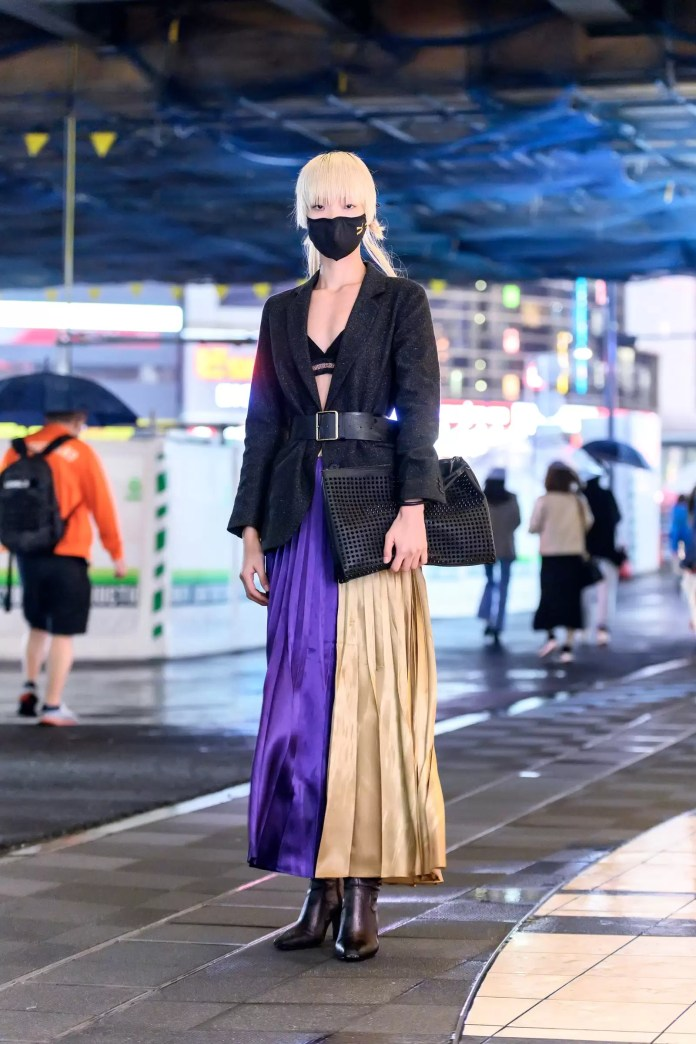 Some Street Style Awesomeness From Tokyo Fashion Week SS21 Just For You! 4