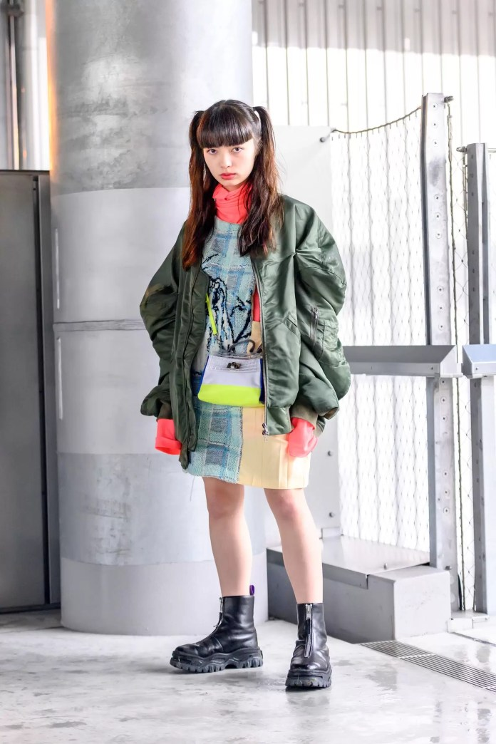 Some Street Style Awesomeness From Tokyo Fashion Week SS21 Just For You! 2