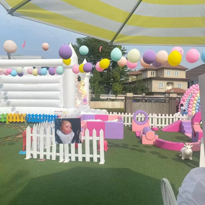 Take A Look At Stephanie Coker's Daughter, Ariella's First Year Birthday 1