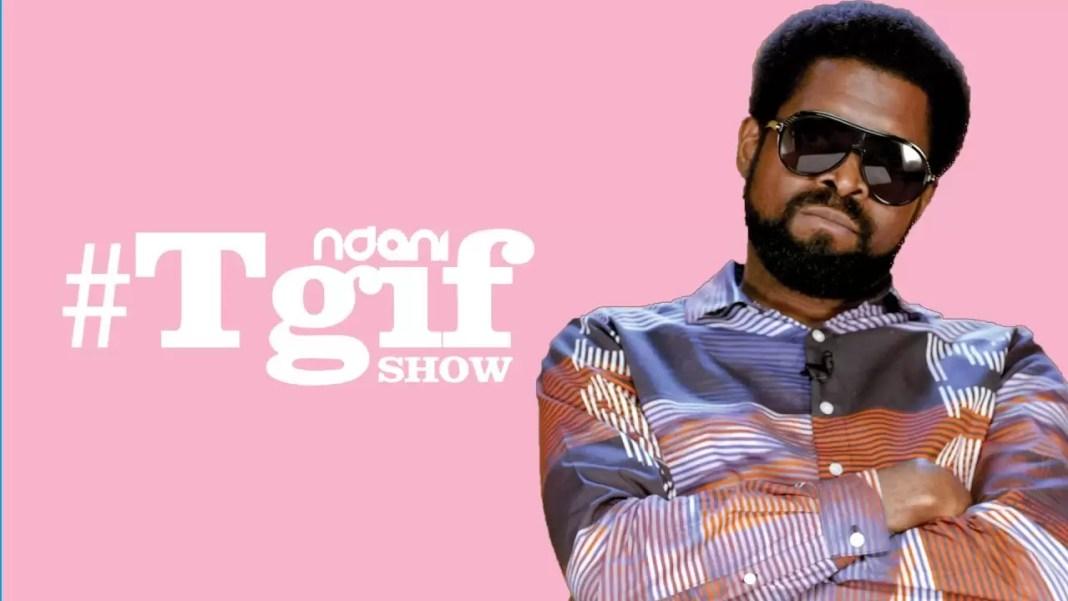 Basketmouth on the Ndani TGIF Show