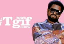 Basketmouth on the Ndani TGIF Show