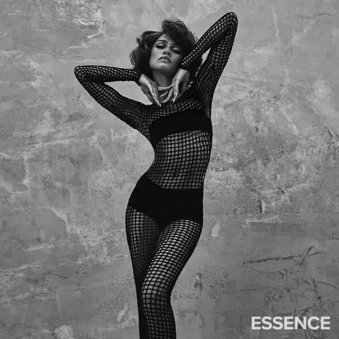Zendaya Pays Homage To Donyale Luna As The Cover Girl For Essence Magazine's 50th Anniversary Closing Issue 3