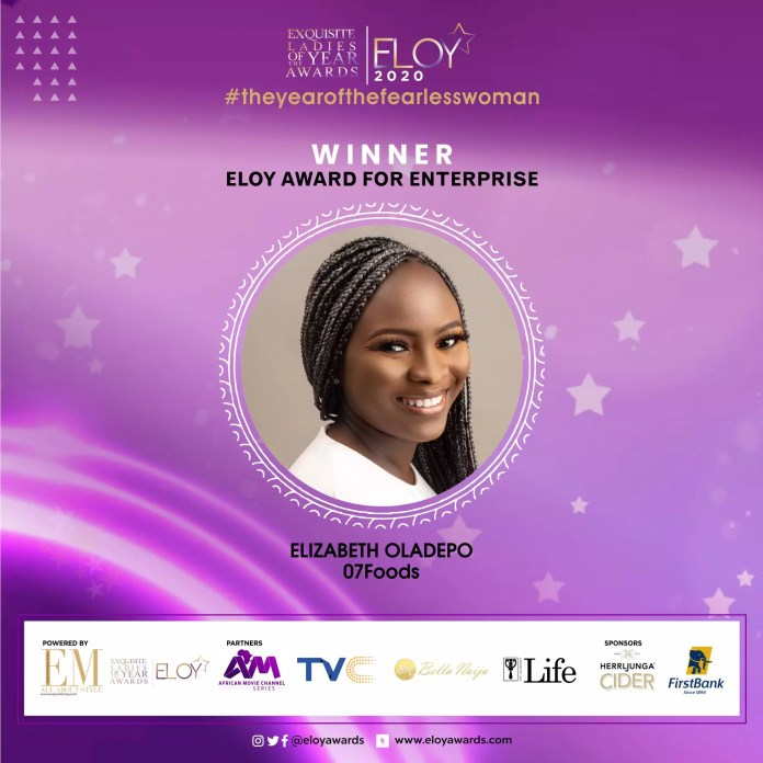 Tolu Bally, Toke Makinwa and More Emerge As The ELOY Awards 2020 Winners 13