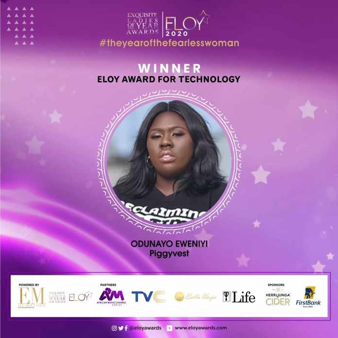 Tolu Bally, Toke Makinwa and More Emerge As The ELOY Awards 2020 Winners 4