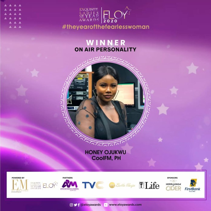 Tolu Bally, Toke Makinwa and More Emerge As The ELOY Awards 2020 Winners 6
