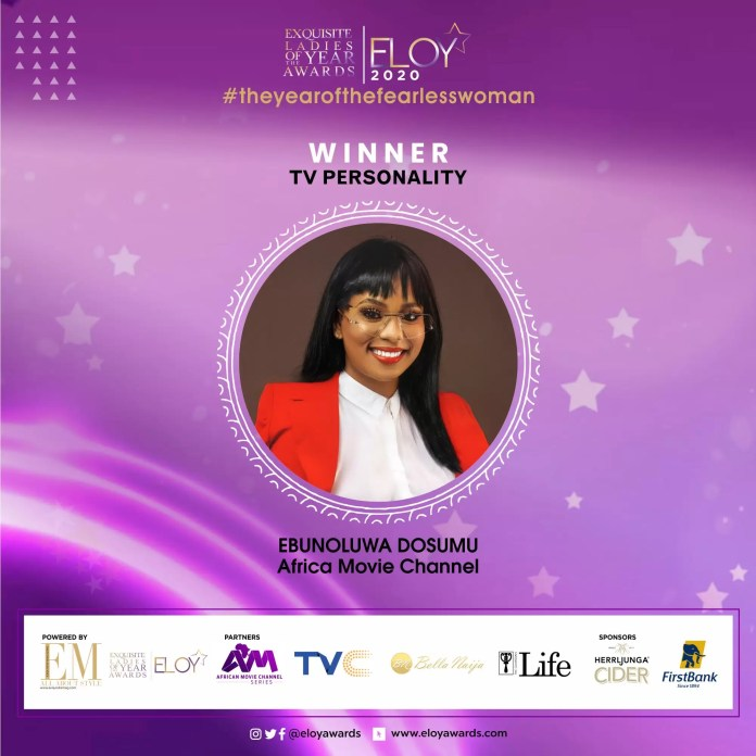 Tolu Bally, Toke Makinwa and More Emerge As The ELOY Awards 2020 Winners 8
