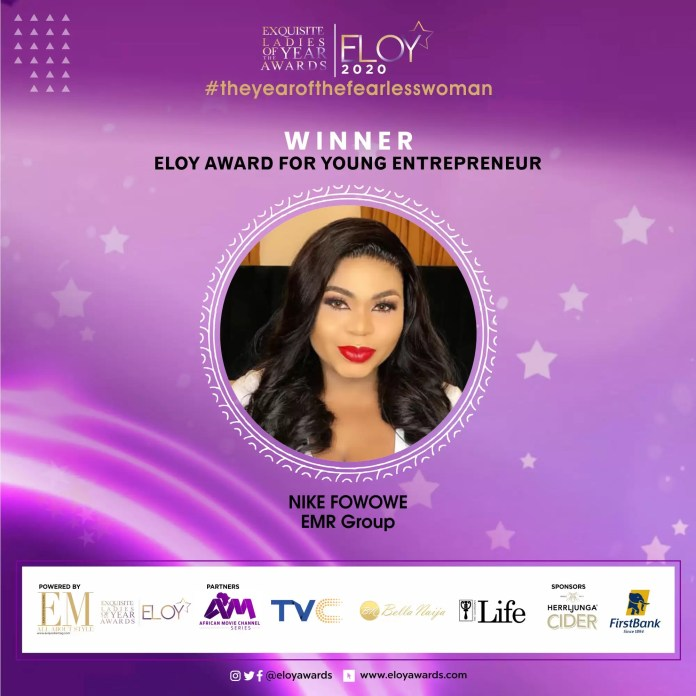 Tolu Bally, Toke Makinwa and More Emerge As The ELOY Awards 2020 Winners 10
