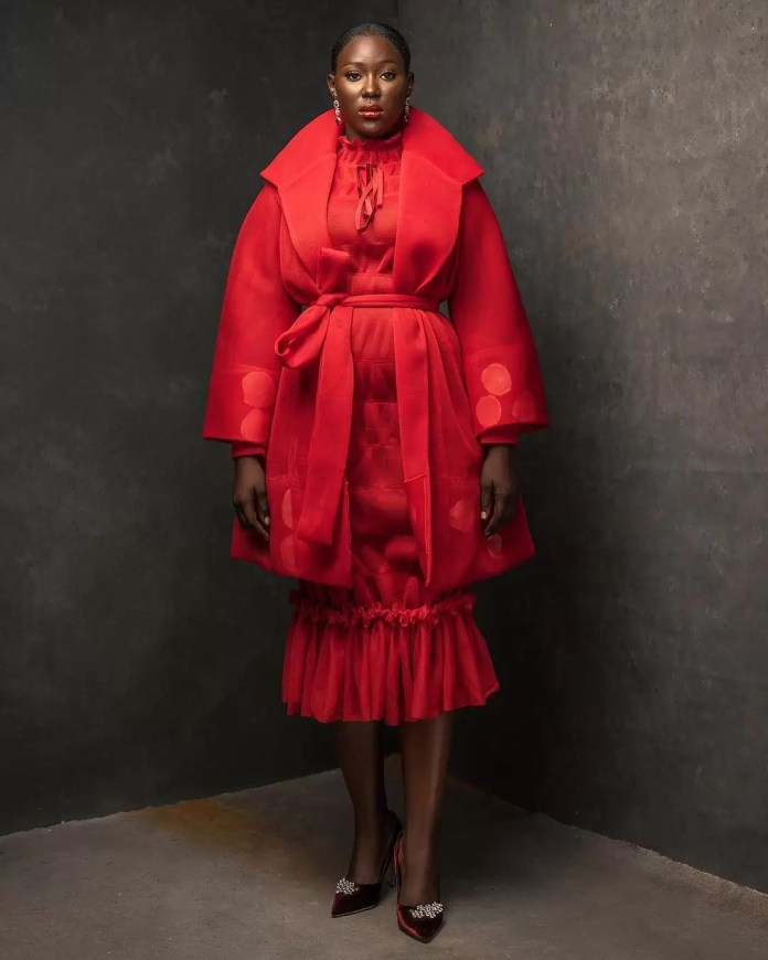 Constance Walter Has Christmas In Mind With Its 'Romantic Noire Collection' Featuring Shaffy Bello 12