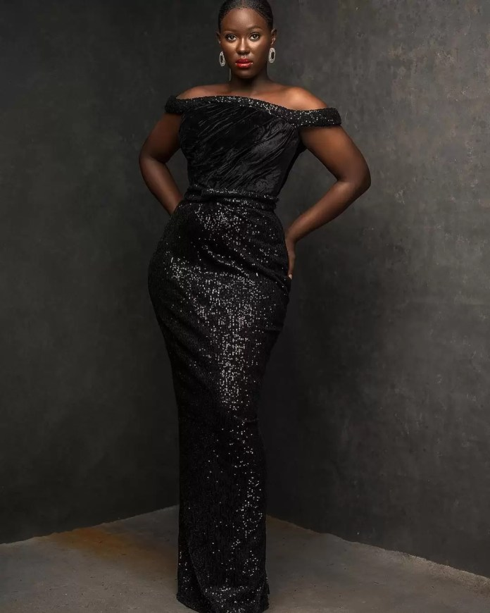 Constance Walter Has Christmas In Mind With Its 'Romantic Noire Collection' Featuring Shaffy Bello 8