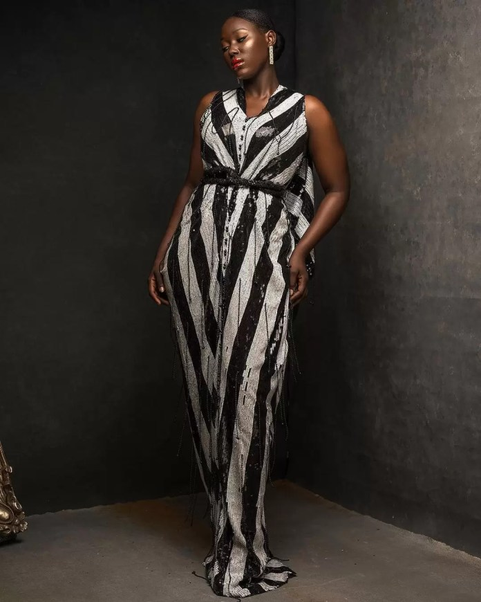 Constance Walter Has Christmas In Mind With Its 'Romantic Noire Collection' Featuring Shaffy Bello 6
