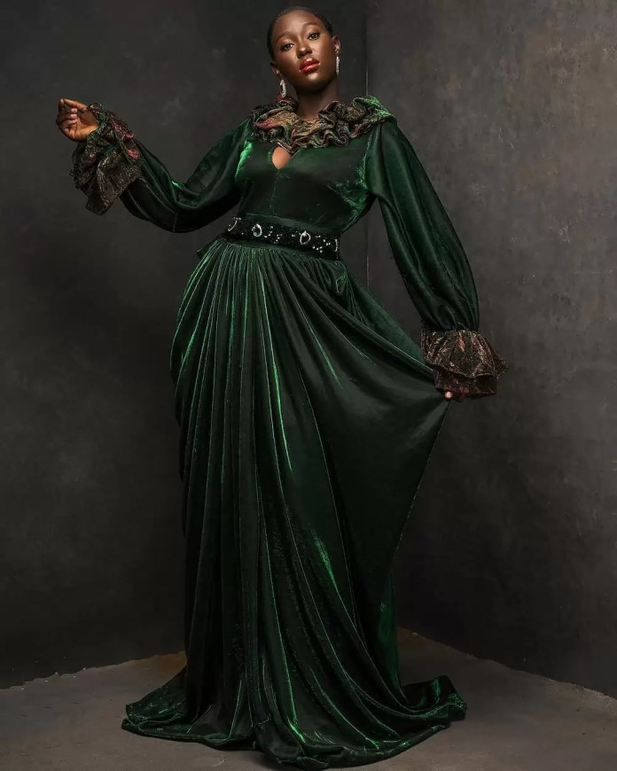 Constance Walter Has Christmas In Mind With Its 'Romantic Noire Collection' Featuring Shaffy Bello 13