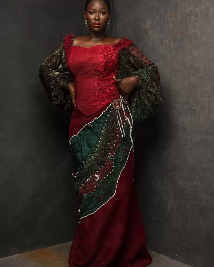 Constance Walter Has Christmas In Mind With Its 'Romantic Noire Collection' Featuring Shaffy Bello 17