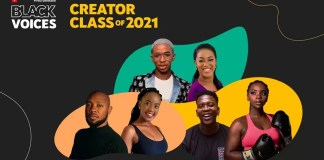 Youtube Black Voices Class of 2021