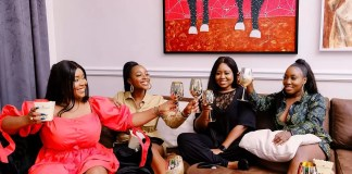 Ini Dima Okojie Hosts Namaste Wahala Home Party With Friends
